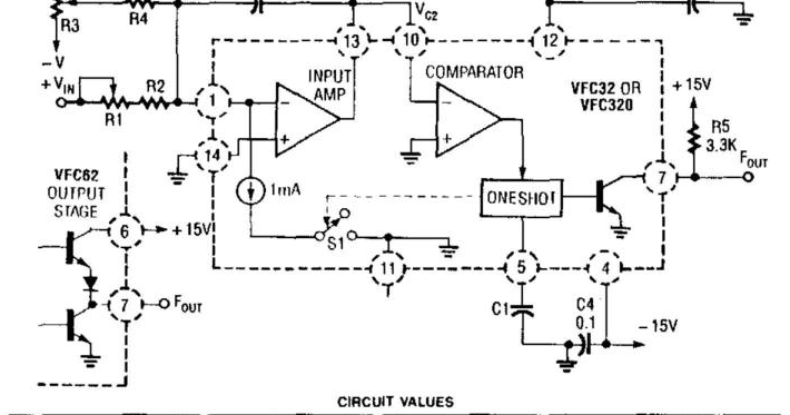 Build A Voltage To Frequency Converter Wiring Diagram