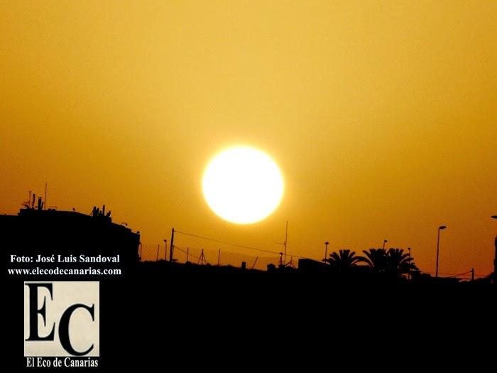 calor y calima canarias 22 octubre