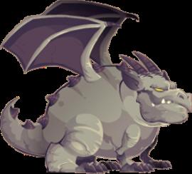 imagen del dragon gargola adulto