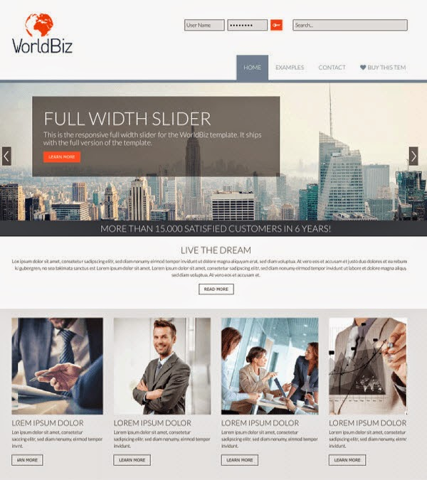 WorldBiz Joomla Business Templates