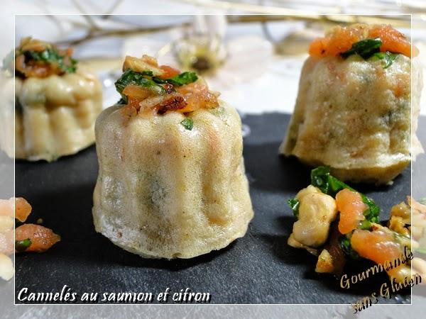 Cannelés au saumon