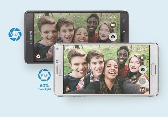 Kamera Galaxy Note 4