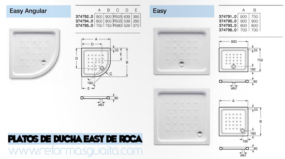 Pumps tubos termo boiler platos de ducha de loza - Plato de ducha 70x70 ...