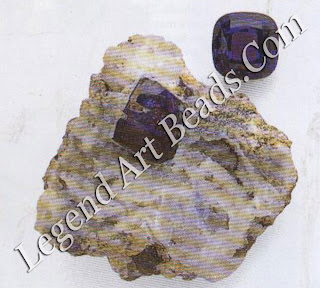 TANZANITE The purplish-blue gem variety of the mineral zoisite is tanzanite. It was found in northern Tanzania in 1967 and is remarkable for its displays of rich blue, magenta, and yellowish grey. Many crystals are greenish grey and are heat treated to the more attractive blue.