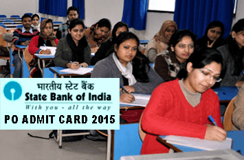 SBI Probationary Officers Exam Admit Card 2015, SBI PO Hall Ticket June 2015, SBI PO Admit Card 2015 Download Today at sbi.co.in, State Bank of India (SBI) Advt. CRPD/PO/2015 Exam Call Letter 2015, SBI Admit Card for Probationary Officers Exam 20th, 21st, 27th and 28th June 2015
