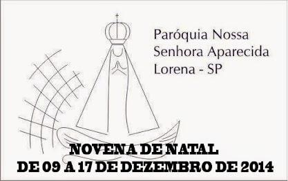 NOVENA DE NATAL 2014
