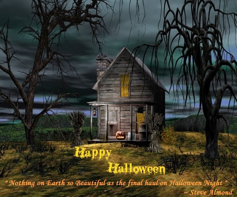 Halloween haunted houses pictures