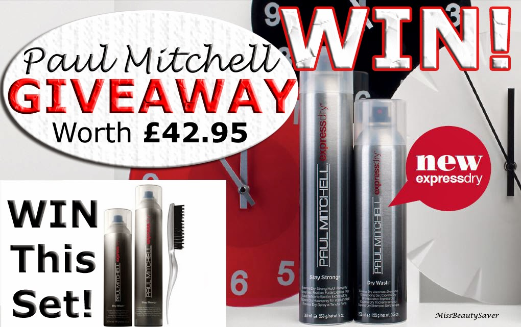 GIVEAWAY: Paul Mitchell Express Dry Kit