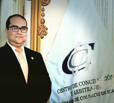Director del Centro de Conciliación y Arbitraje de la Cámara de Comercio de Ica