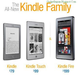Spesifikasi dan Harga Komputer Tablet Kindle Fire buatan Amazon