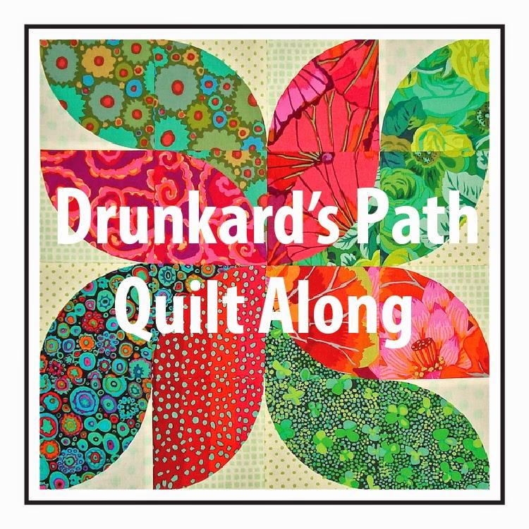 SpringLeaf Studios: Drunkard's Path QAL: Block 7