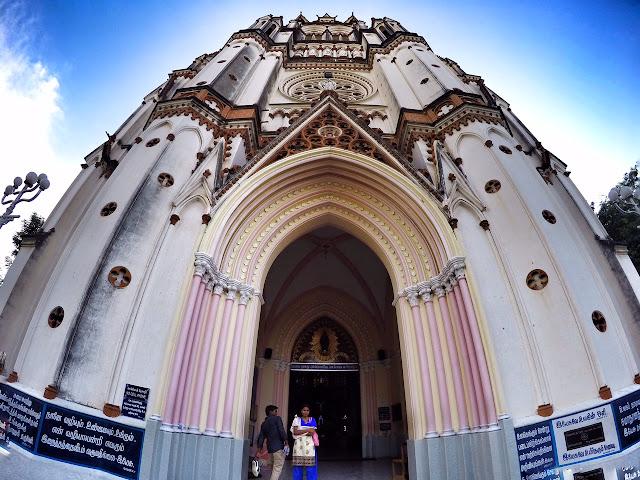 Our Lady of Lourdes Church Tiruchirappalli