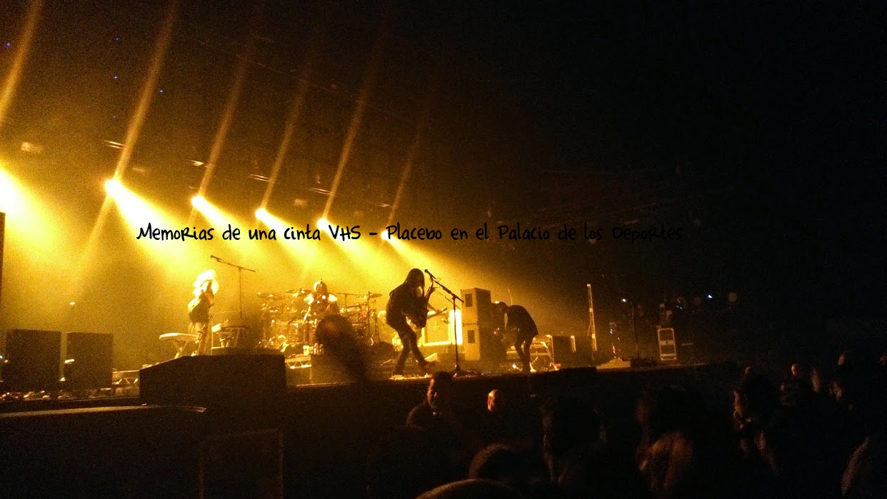 Placebo en Madrid