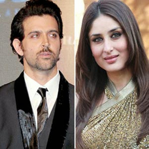 KAREENA KAPOOR KHAN and HRITHIK ROSHAN