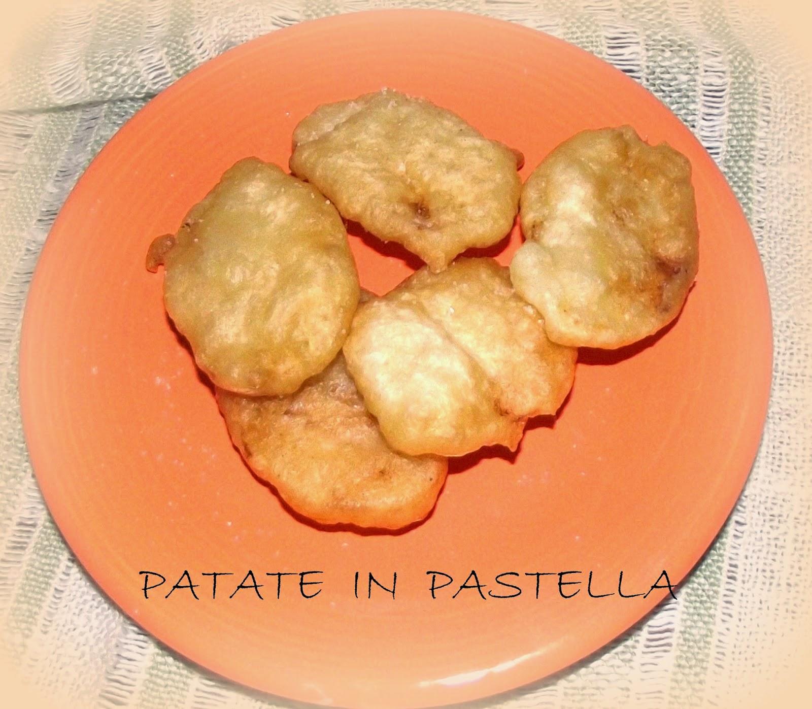 le patate in pastella e il low cost applicato