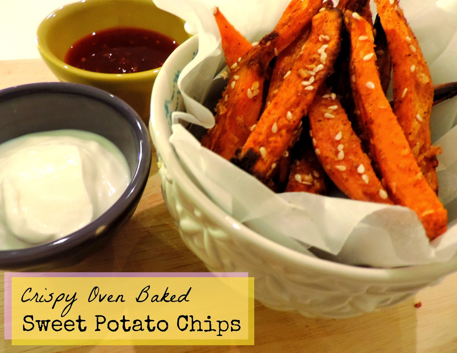 ... Blog | Edinburgh Etiquette: Super Easy Baking - Sweet Potato Chips