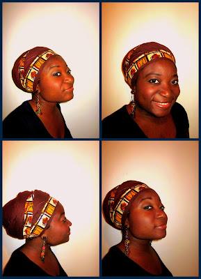 Afro Mango & Cie - Attaché de foulard