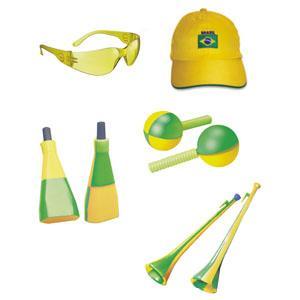 O que usar no dia dos jogos do Brasil Copa do Mundo 2014