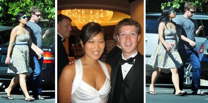Mark Zucker Berg with his Girl Friend Hd wallpaper ( HD Wallpaper)