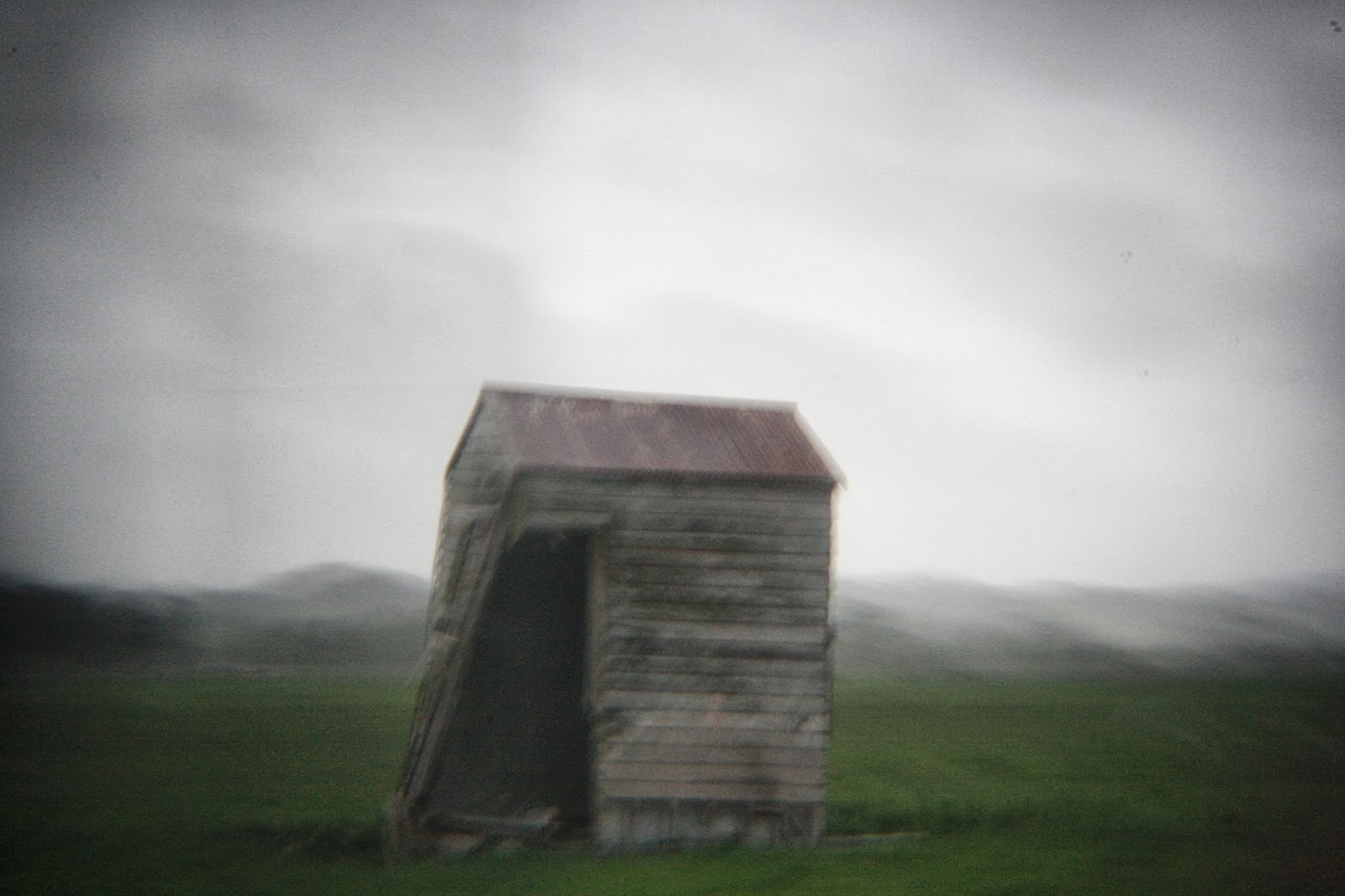 Abandoned shed, Northland, New Zealand.
