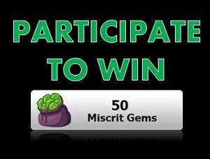 Win 50 gems!