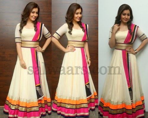 Rashi Khanna Floor Length Kameez Indian Dresses