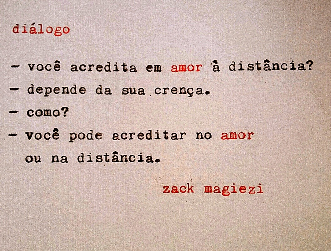 Blog Da Lari As Poesias De Zack Magiezi