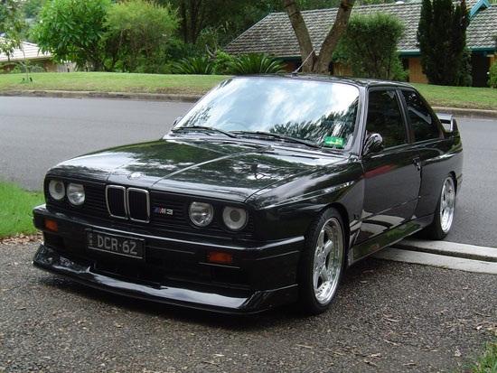 Bmw E30 Auto Car