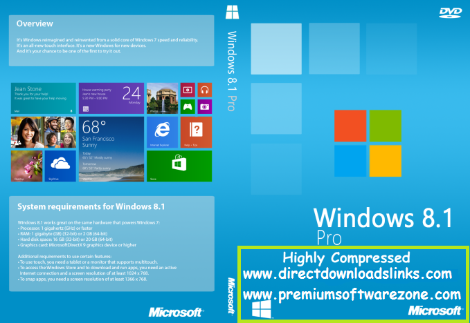 Windows 8.1 Highly Compressed