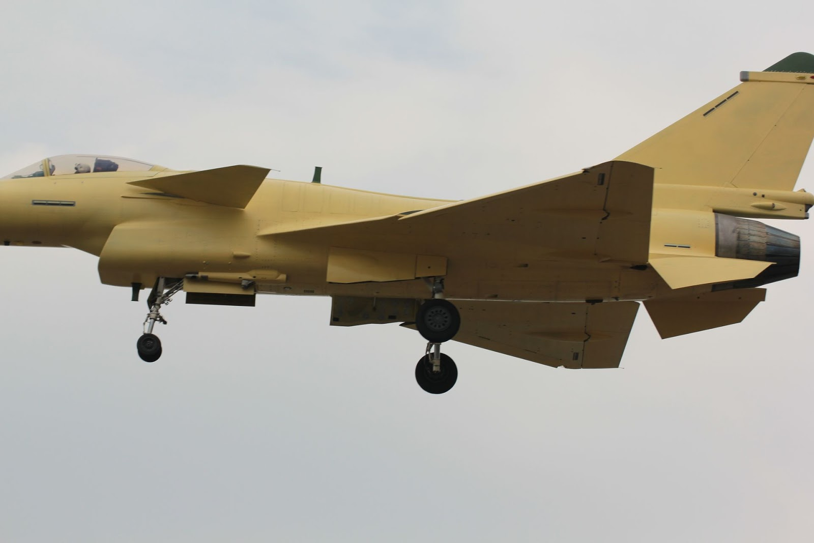 Chinese Preproduction J-10B Fighter Starts Flight Testing | Chinese Military Review
