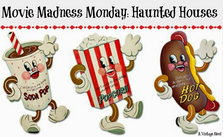 A Vintage Nerd, Classic Film Blog, Classic Haunted House Movies, Vintage Blog