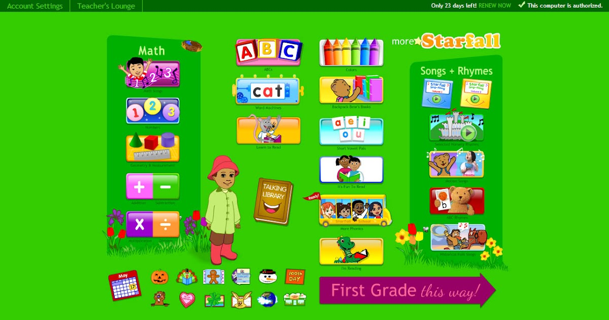 Simplyhood Free Trial a month from More Starfall – Starfall Math Worksheets