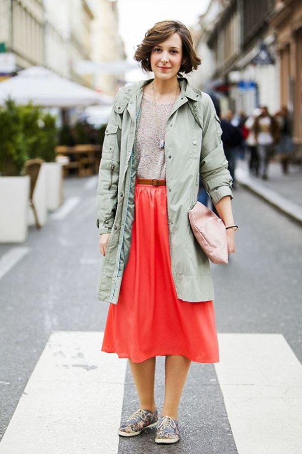 What To Wear With A Red Skirt - Dress Ala