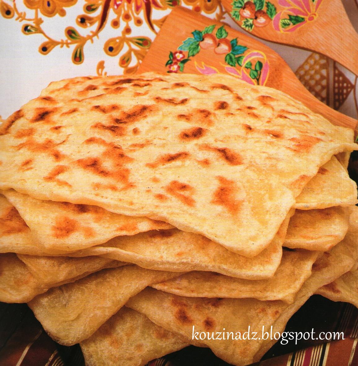 La Cuisine Algerienne: La Cuisine Algérienne: Msemen