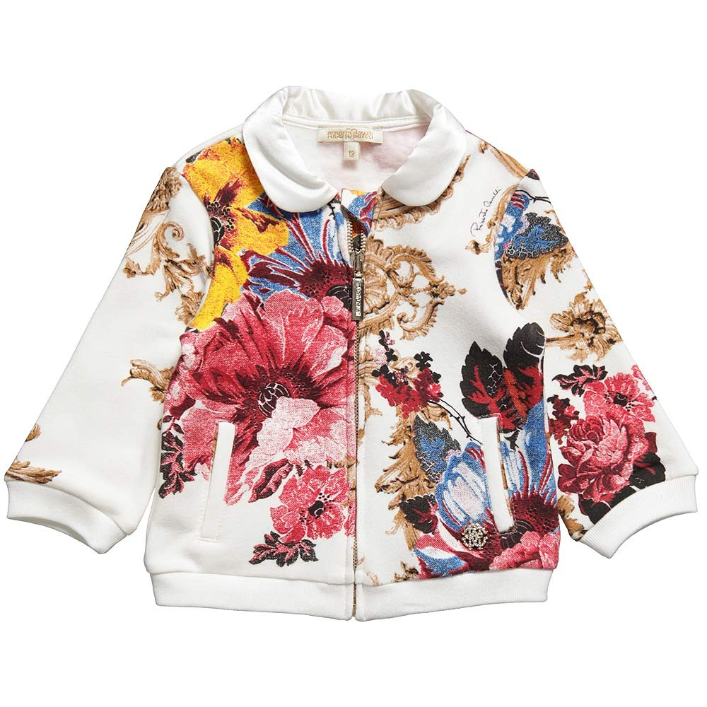 Designer baby roberto cavalli 39 s fall 2012 floral Baby clothing designers
