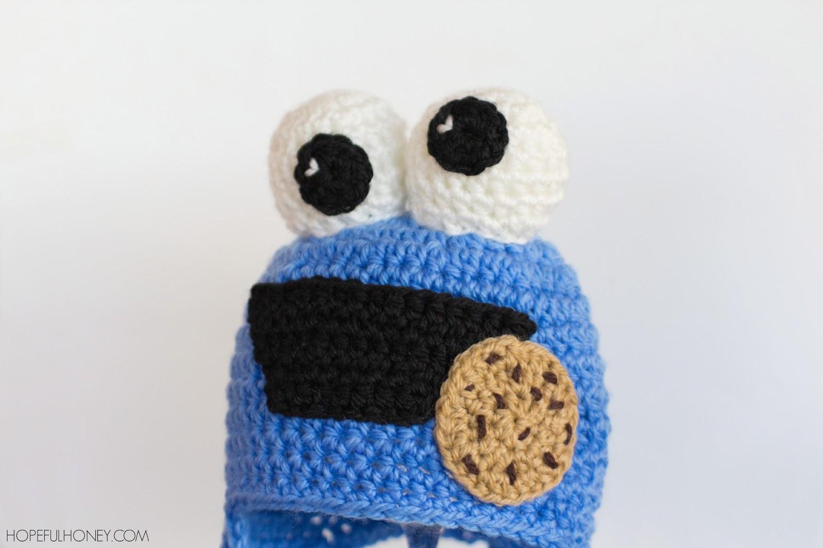 Hopeful Honey Craft, Crochet, Create: Cookie Monster ...
