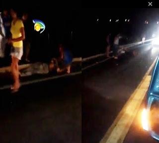 Acidente com moto entre Cuité e Nova Floresta deixa dois feridos