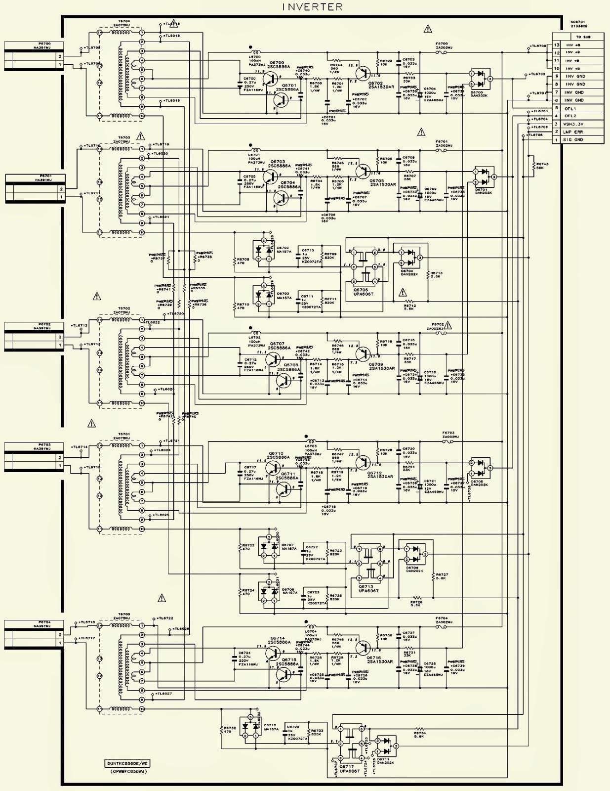 LC20SH1E     SHARP        SCHEMATIC       DIAGRAM        Circuit       Diagram