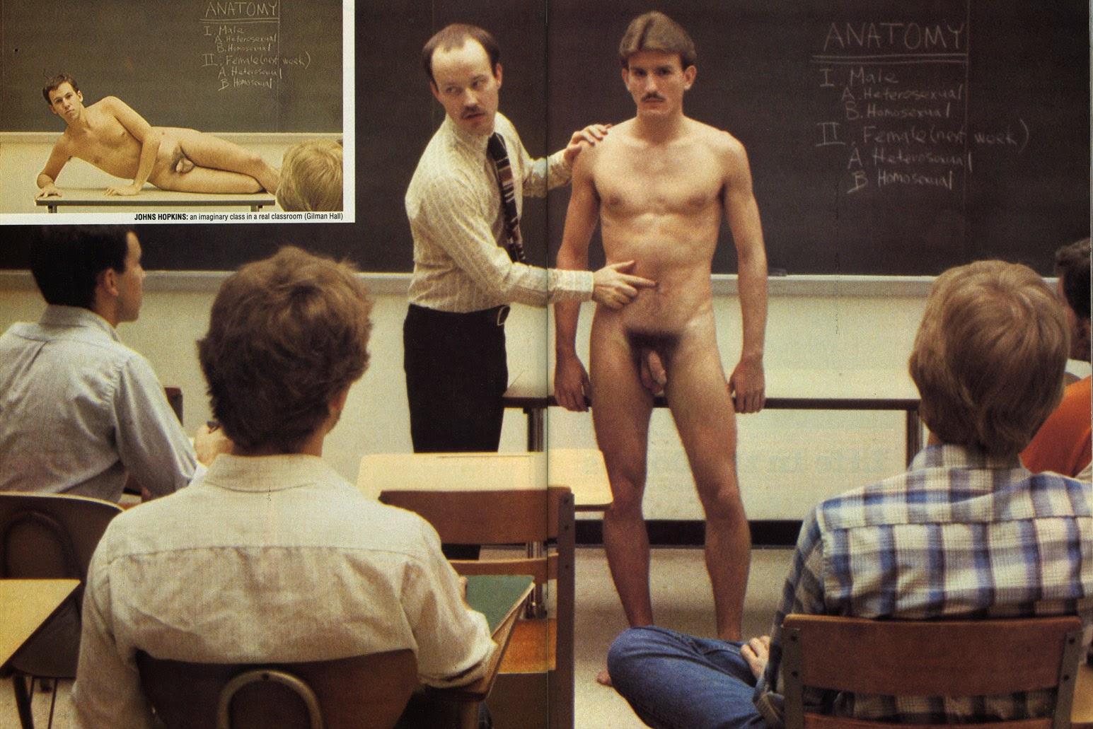 nude Ivy league