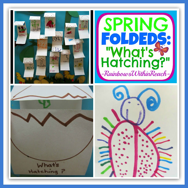 "photo of: Spring Foldables: ""What's Hatching?"" via RainbowsWithinReach"