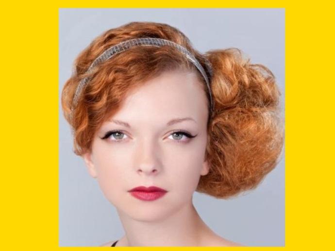 Madame macabre looks inspiradores recogidos para pelo - Peinados de fiesta con rizos ...