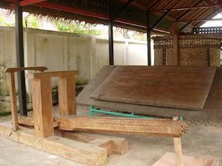 Mengenal Jingki, Alat Penumbuk Tradisional Masyarakat Aceh