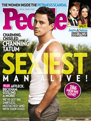 Channing Tatum Named The Sexiest Man Alive: 2012