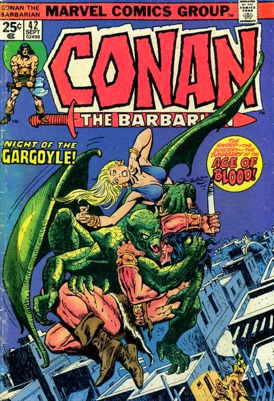 Conan the Barbarian #42, Night of the Gargoyle