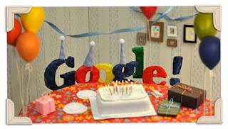 Doodle do Google - 13º aniversário