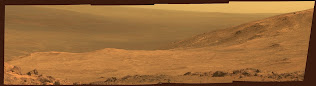 OPPORTUNITY'S VIEW OF MARATHON VALLEY