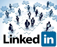 An image of people connecting like a puzzle by using LinkedIn.