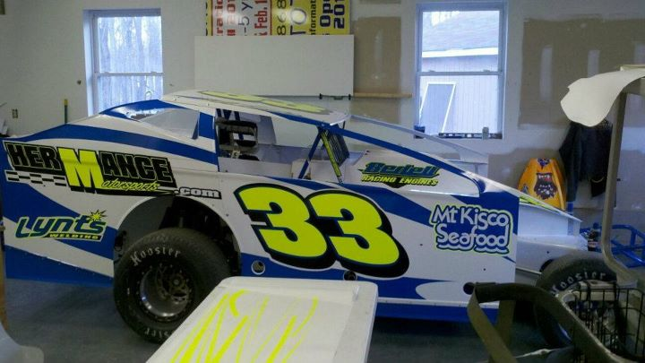 Club wago 39 s dirt racing blog john lieto 2012 paint scheme for Dirt track race car paint schemes