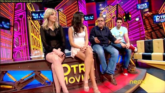 Anna Simon y Cristina Pedroche piernas