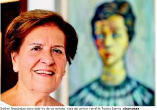Esther Fernández, científica gallega más años en activo